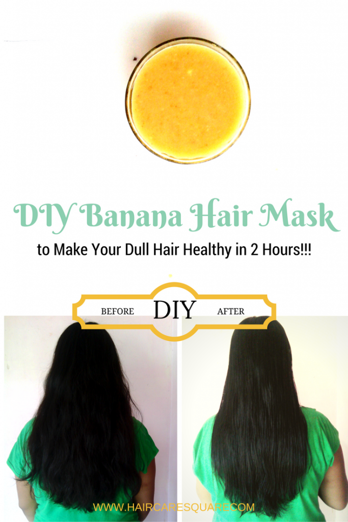 diy banana hair mask to repair your dry damaged and frizzy hair get healthy hair in 2 just hours. Black Bedroom Furniture Sets. Home Design Ideas