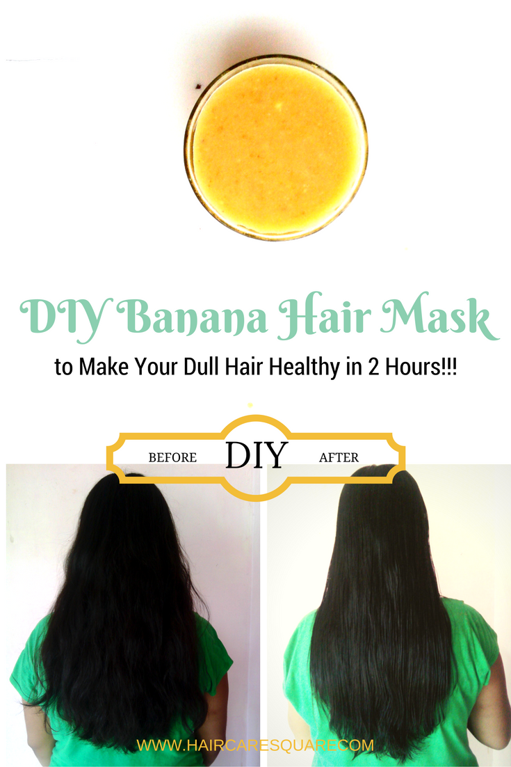 Diy Banana Hair Mask To Repair Your Dry Damaged And Frizzy Hair Get