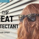 DIY Heat Protectant Hair Spray WITH STEP BY STEP PHOTOS !!!