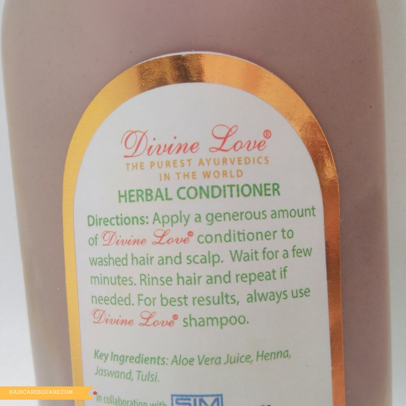 divine love herbal conditioner
