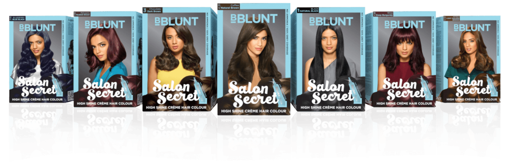 BBlunt Salon Secret Hair color shades and review