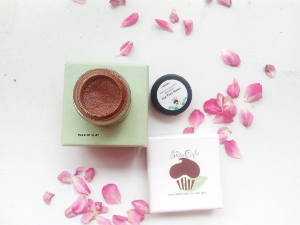 SkinCafe Chocolate lip tint balm