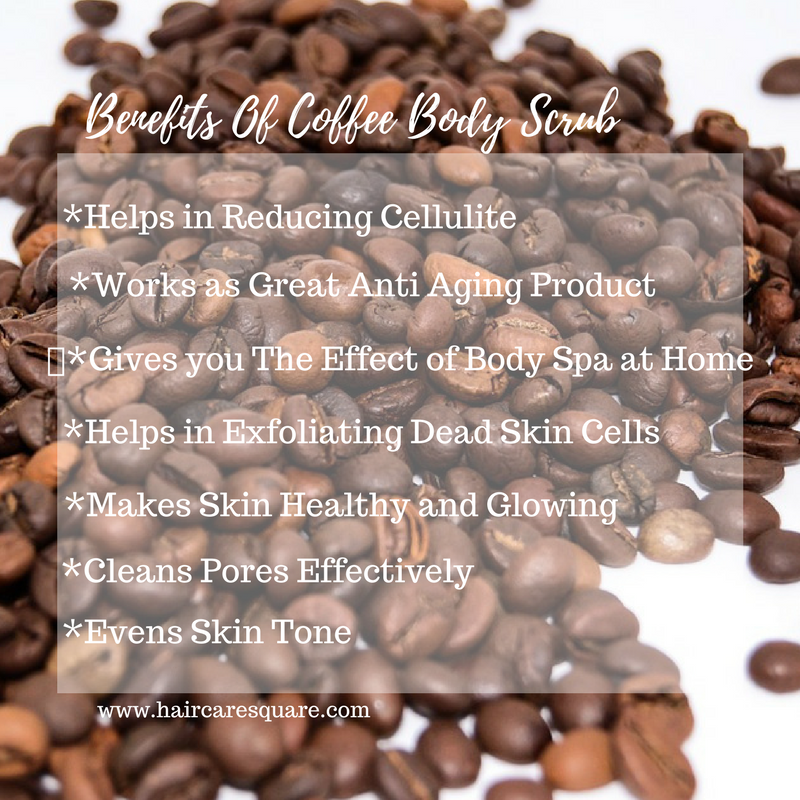benefits of coffee body scrub