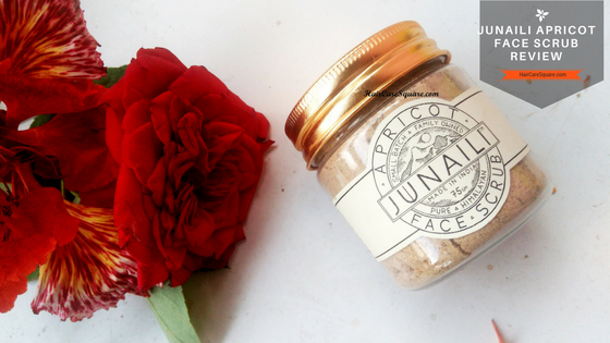 junaili apricot face scrub review