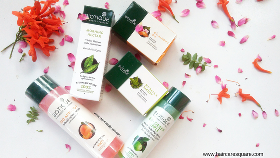 Biotique advanced ayurveda products haul and review