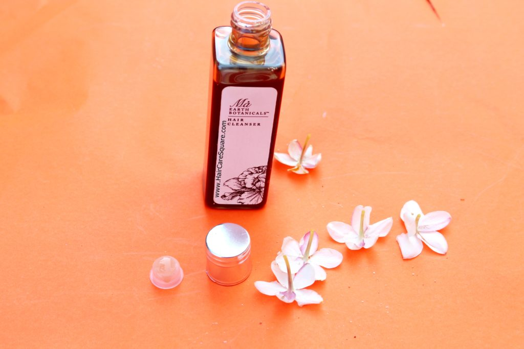 ma earth botanicals hair cleanser review