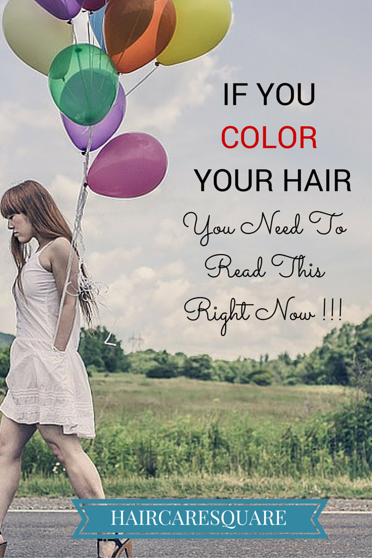 tips to color your hair