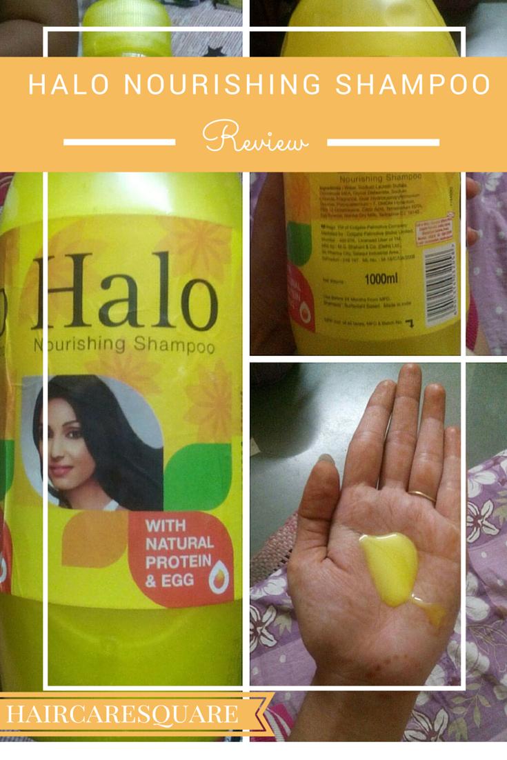 HAlo Nourishing Shampoo with Egg Proteins