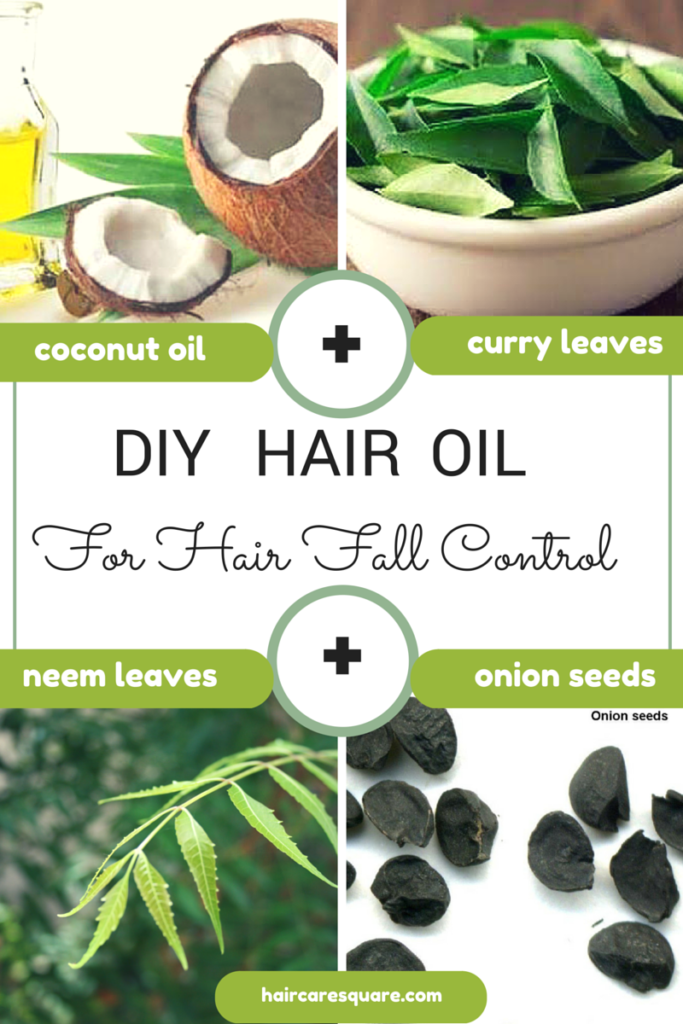 diy hair fall control hair oil