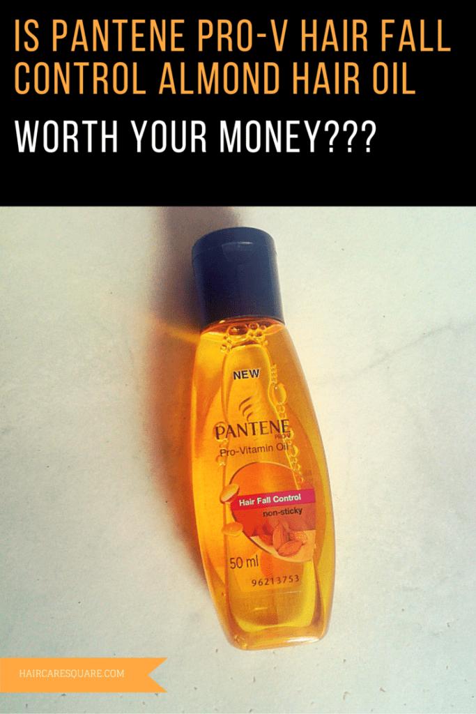 Pantene Pro-V Hair Fall Control Almond Hair Oil Review