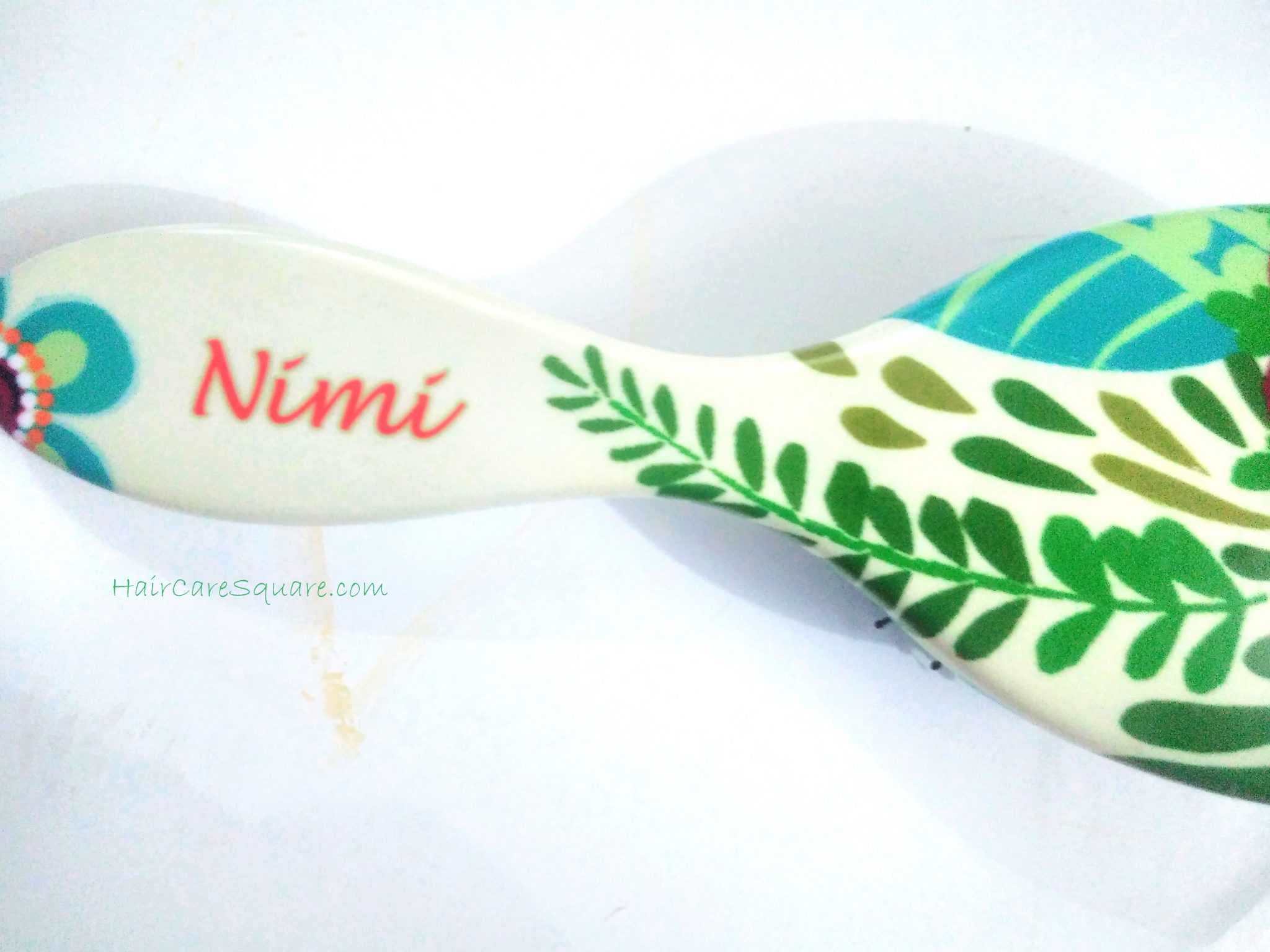 personalized hairbrush with name
