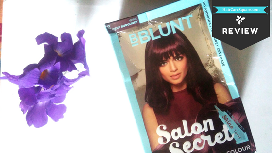 edc0fe61ccd How to Use BBlunt Salon Secret Creme Hair Color with Shine Tonic at Home !!!