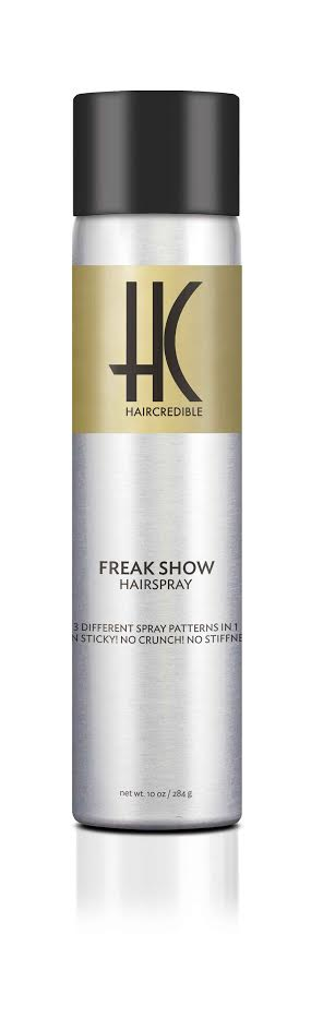 haircredible freak show hair spray