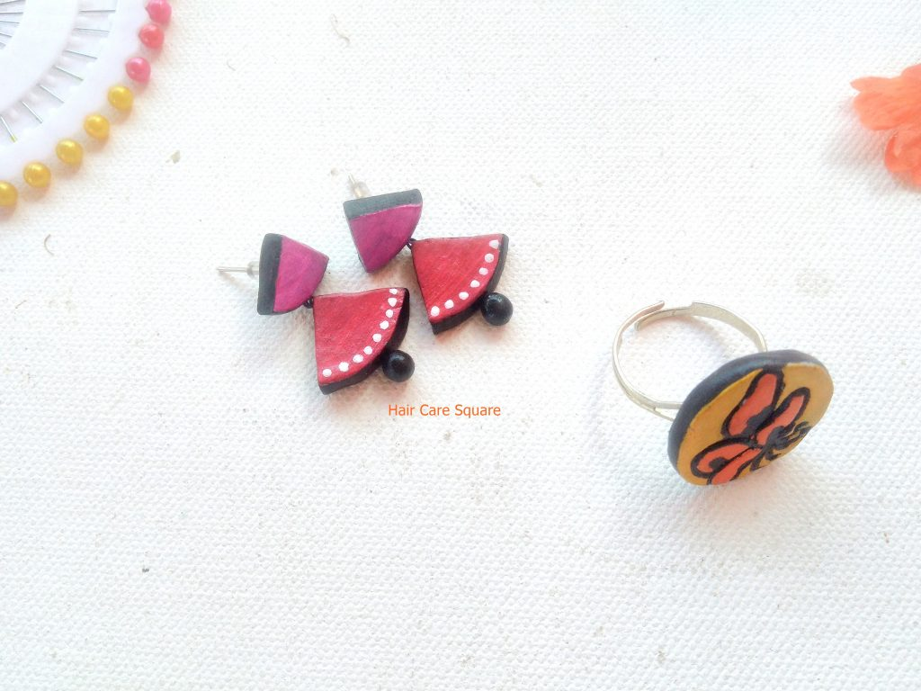 Kalakruti terracotta jewelry from qtrove haul and coupon code