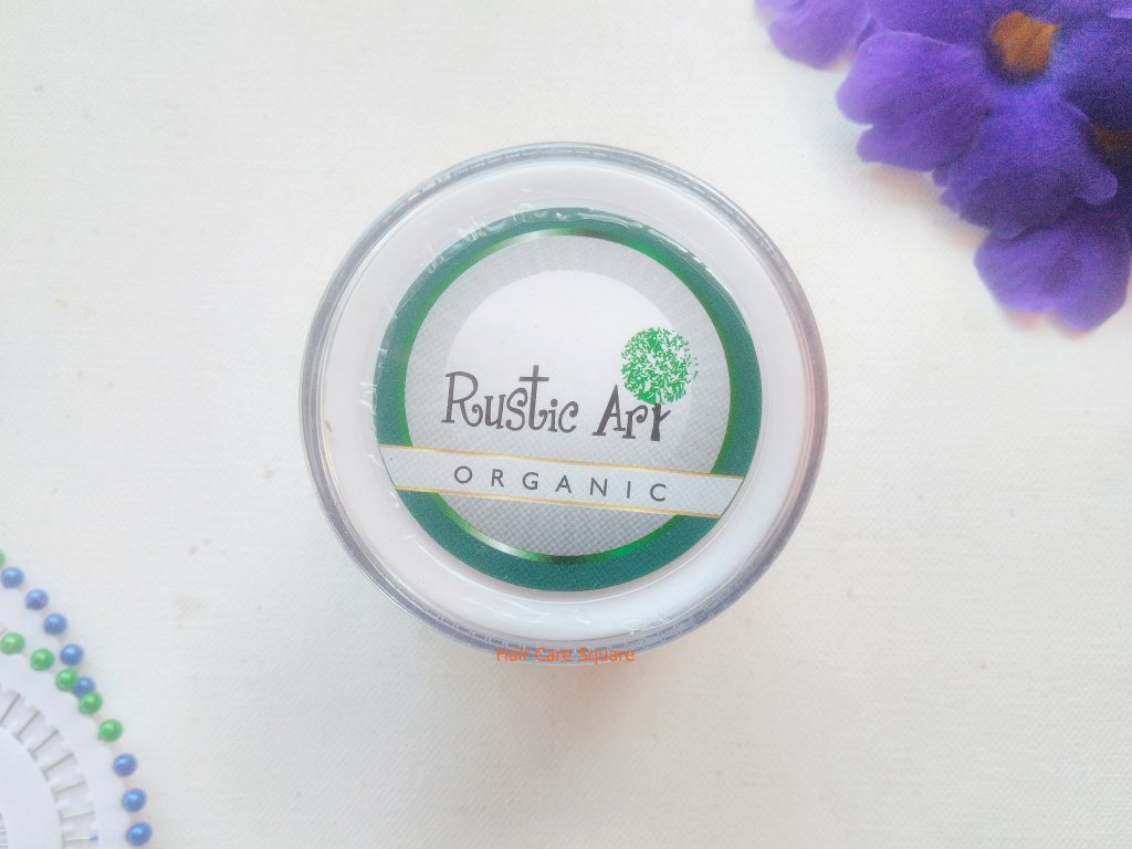 Rustic Art Hair Therapy Gel from Qtrove haul