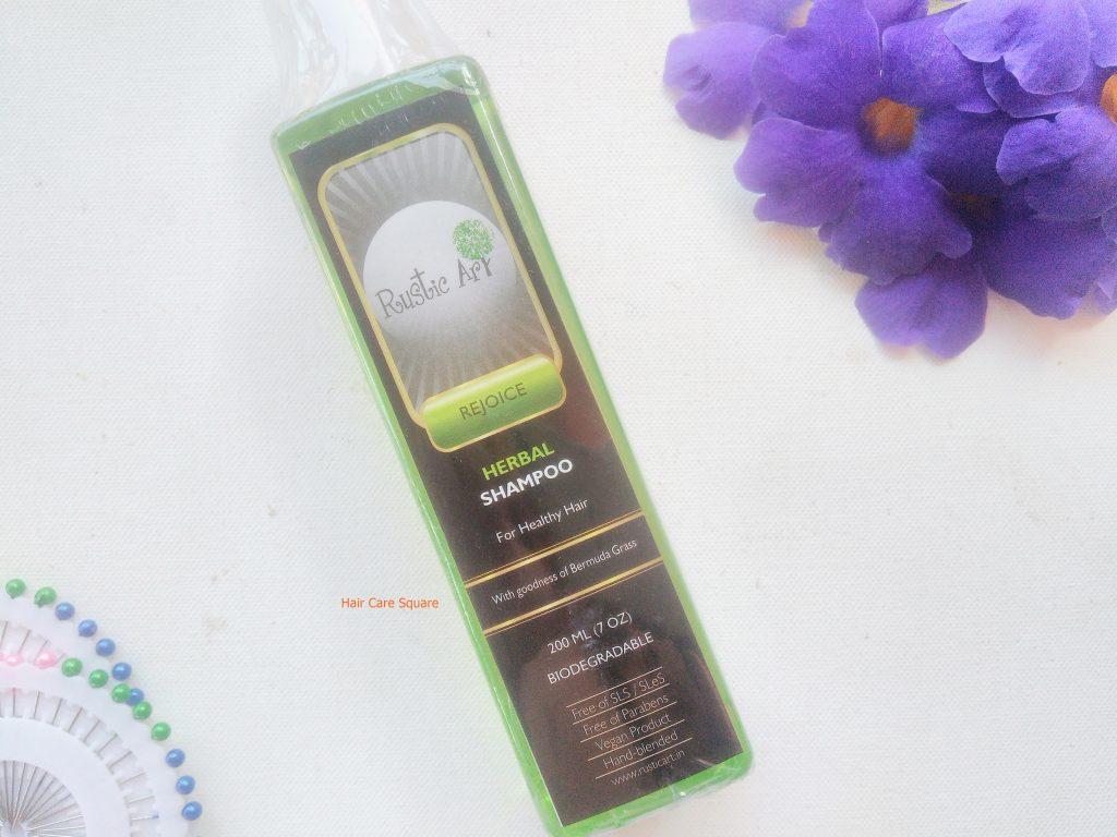 Rustic Art Biodegradable Shampoo from Qtrove haul