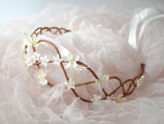 floral hair accessories for wedding 2017