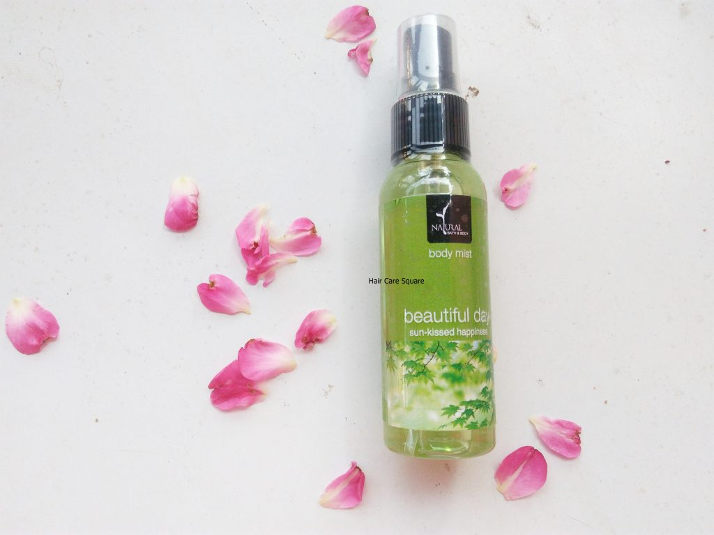 natural bath and body body mist review