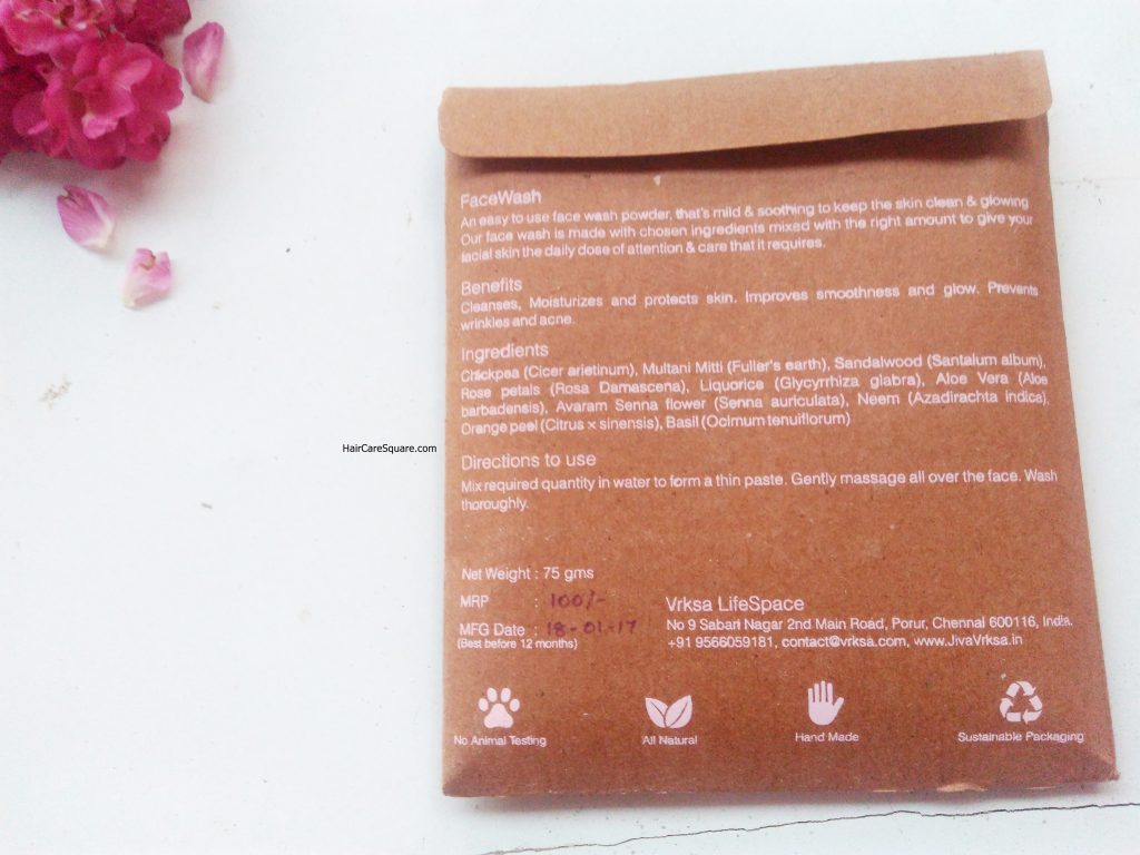 jiva vrksa personal care products haul and review