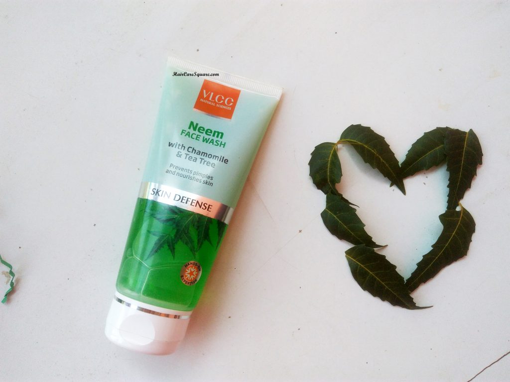 VLCC Neem Face wash with Chamomile and Tea Tree Extracts Review