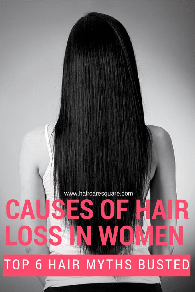 TOP 6 HAIR MYTHS BUSTED