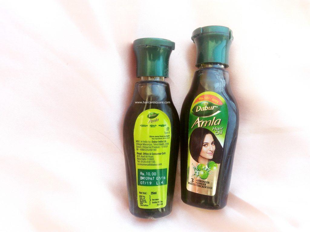 Dabur Amla Hair oil review