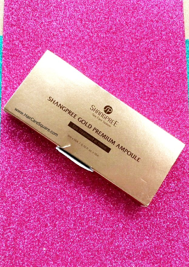 shangpree gold hydrogel eye mask review