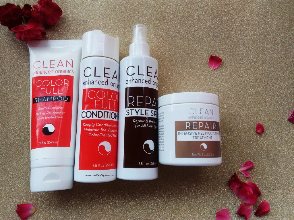 Clean Enhanced Organics Review: Line of Organic Hair Products