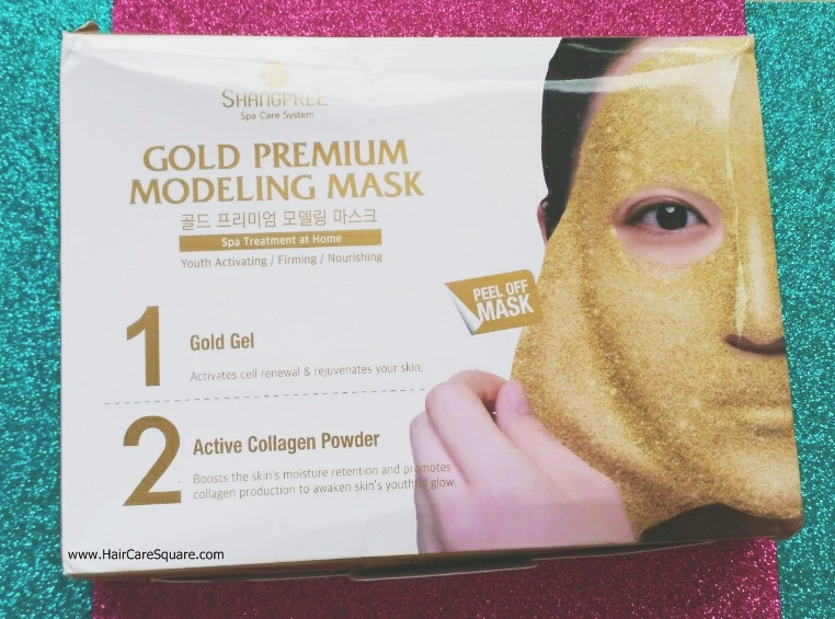shangpree gold premium modeling mask/ rubber mask review