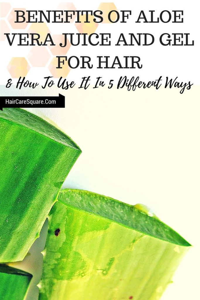 benefits of aloe vera juice for hair