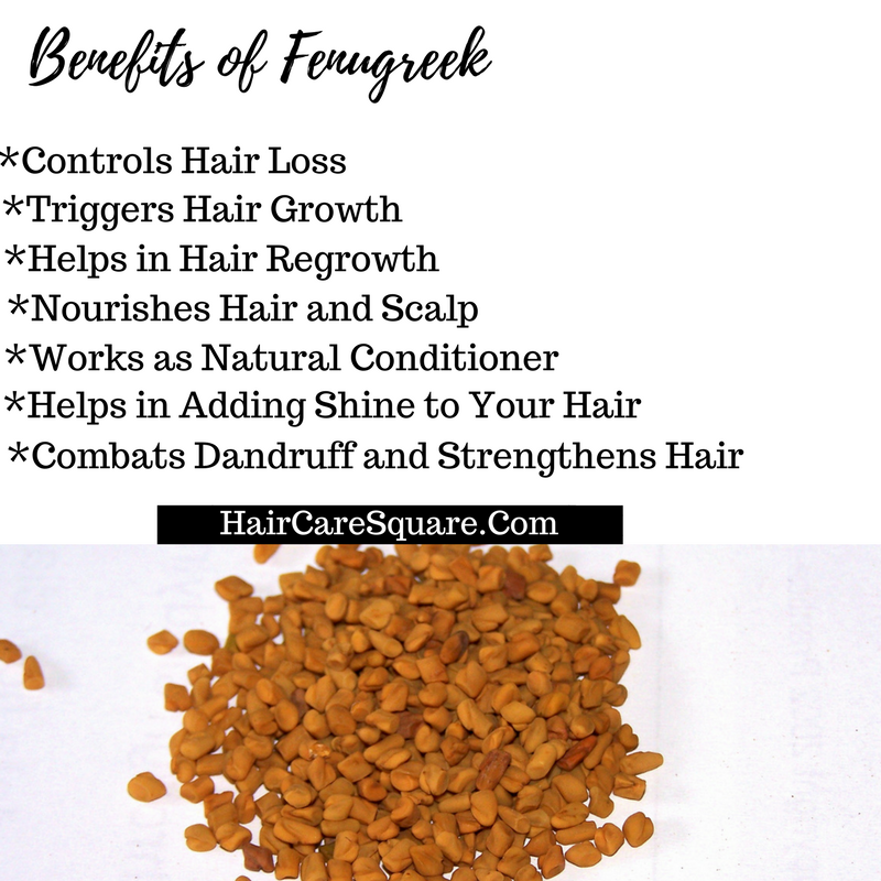 How I Use Fenugreek For Hair Growth And Controlling Hair Fall?