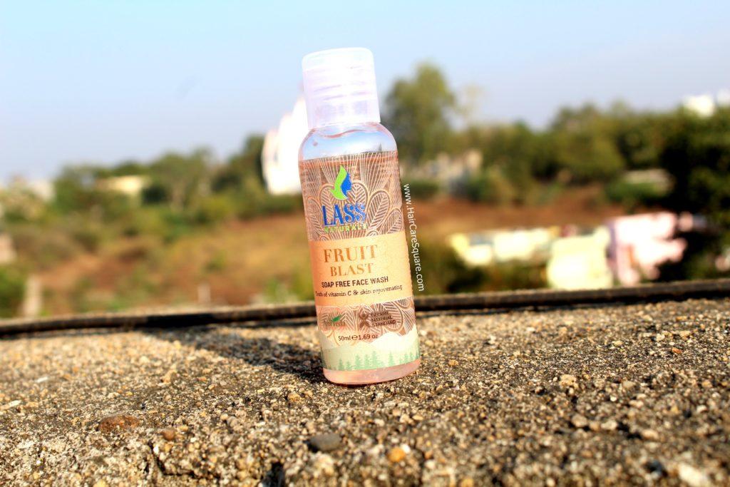 lass naturals fruit blast face wash review