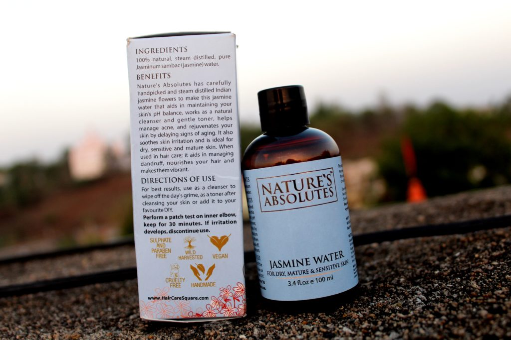 natures absolutes jasmine water review