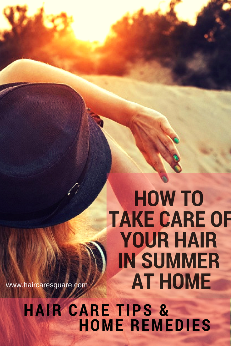 Summer home remedies to take care of your hair
