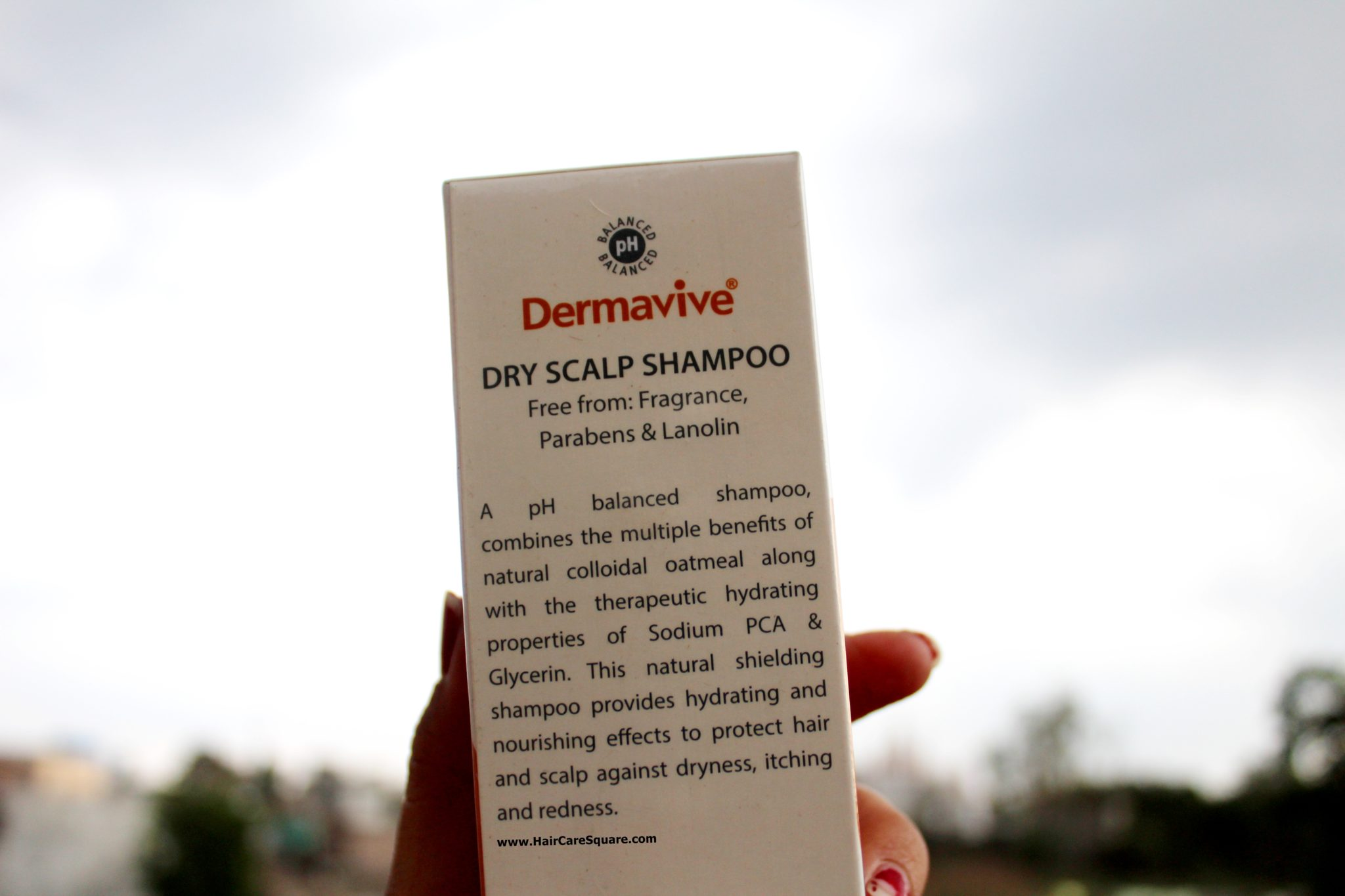 dermavive dry scalp shampoo with oatmeal review