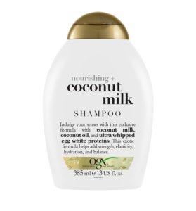 coconut milk shampoo ogx