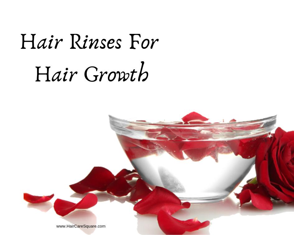 Hair Rinses For Hair Growth