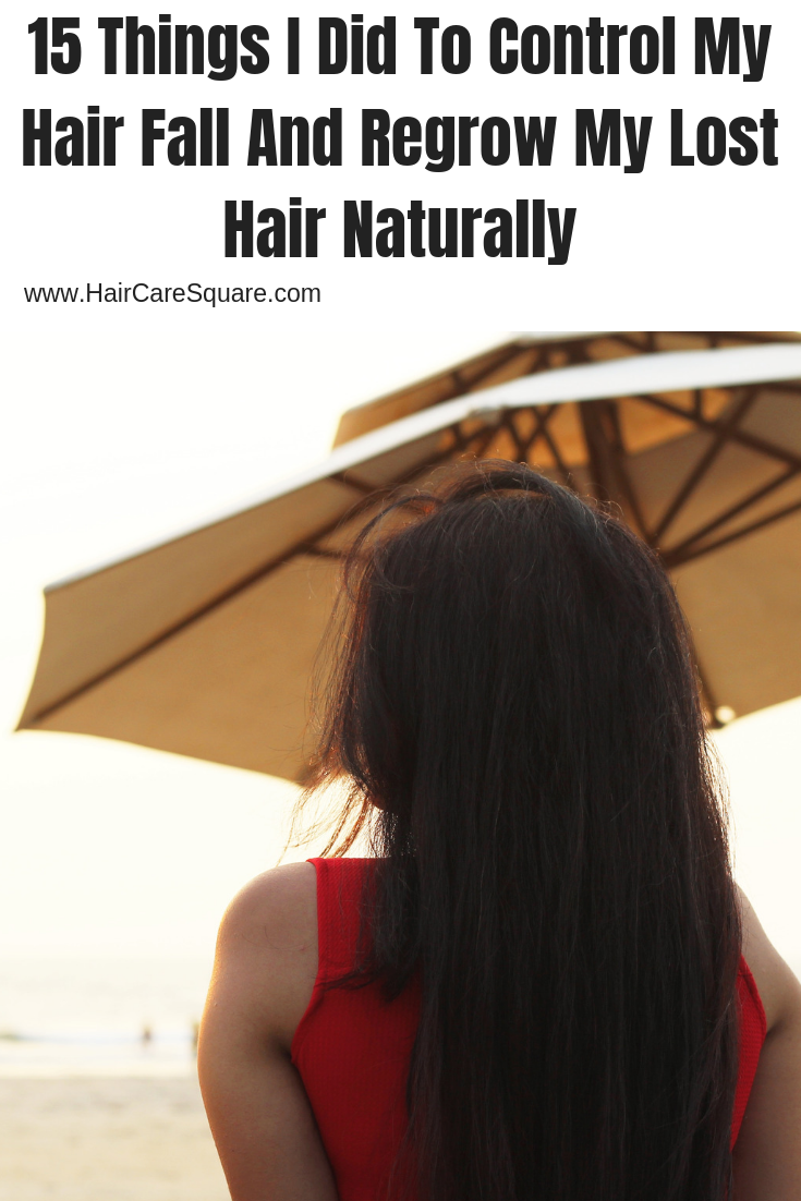 how to control hair fall and regrow lost hair