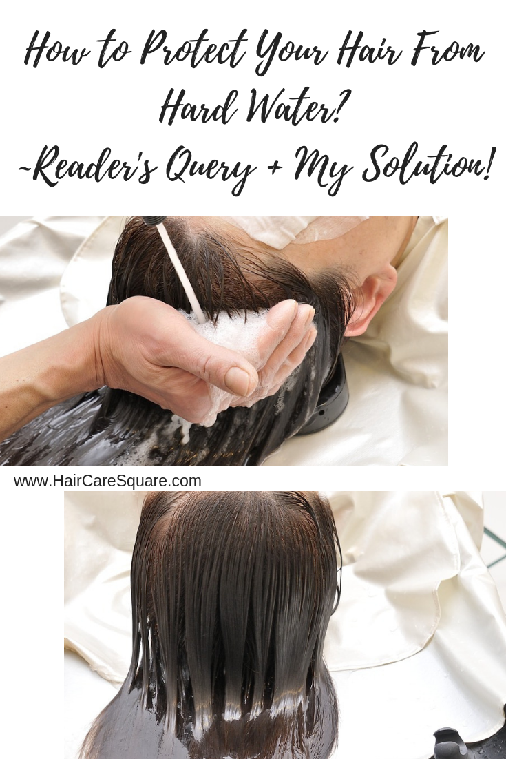 How To Protect Hair From Hard Water