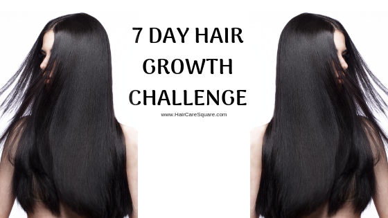 7 Day Hair Growth Challenge Let S Grow 1 Inch Hair In A
