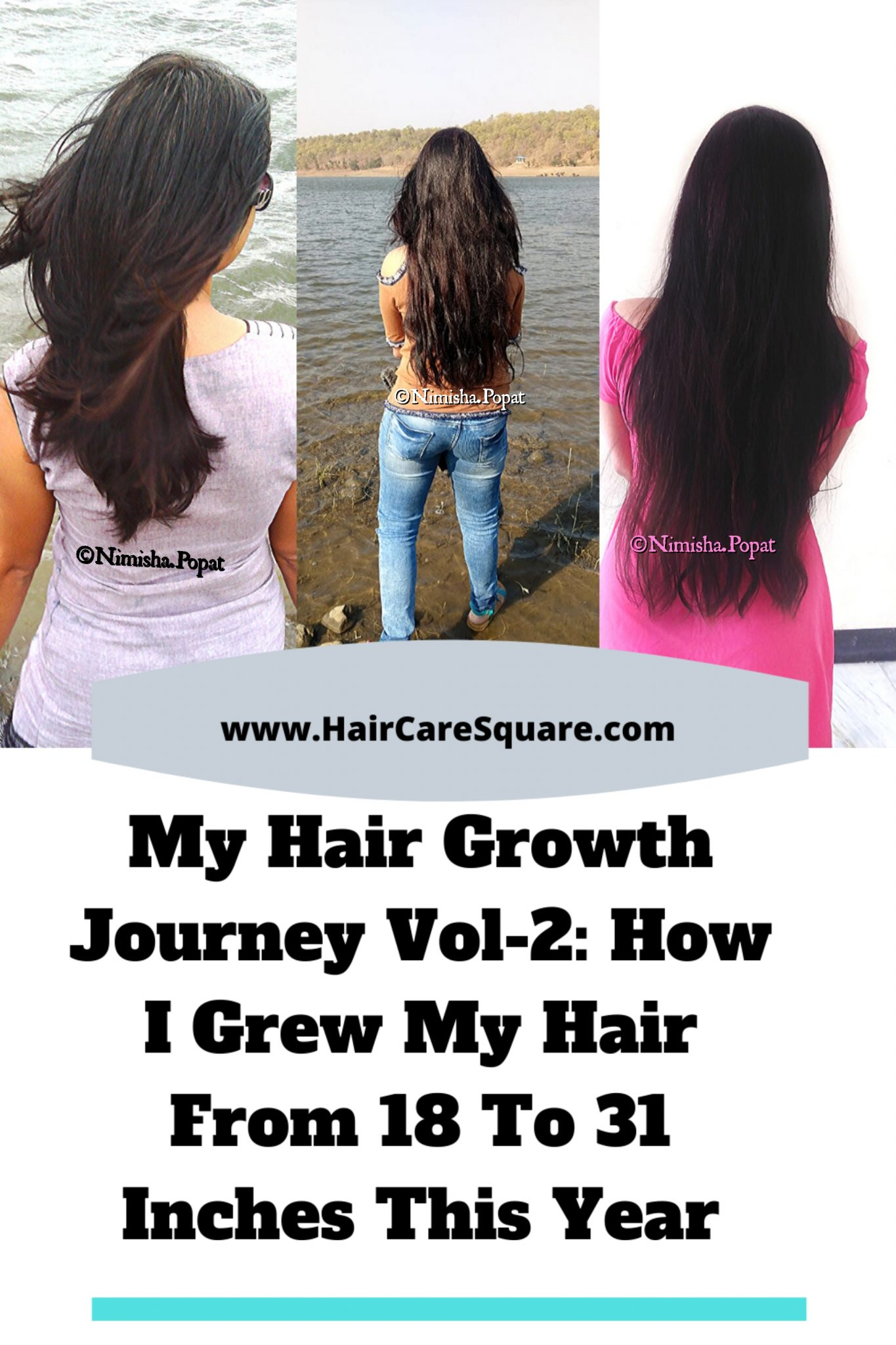 hair growth journey before and after