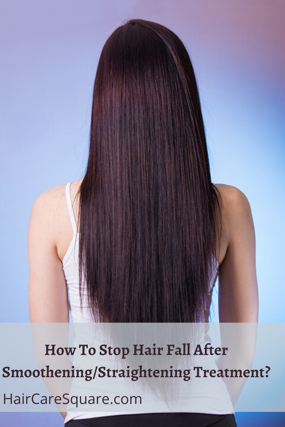 how to stop hair fall after smoothening